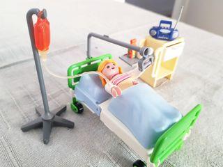 Set Habitación Hospital Playmobil 4405