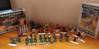 Warhammer 40k Ejercito Eldar Oscuros