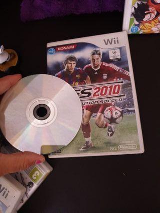 Videojuego pes2010 pro evolution soccer