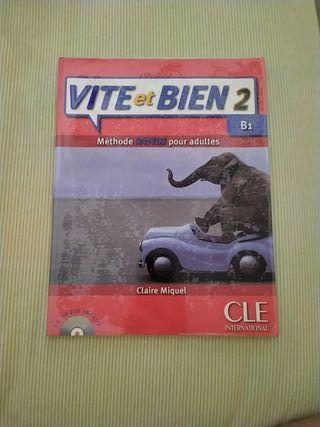 "Libro francés ""Vite et Bien 2"" B1"