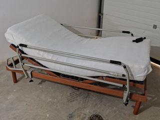 Cama articulada,reclinable y abatible.