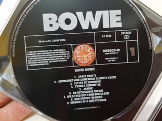 DAVID BOWIE - SPACE ODDITY (2 CDs)