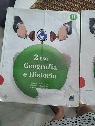 Geografia e Historia 2 ESO editorial Teide