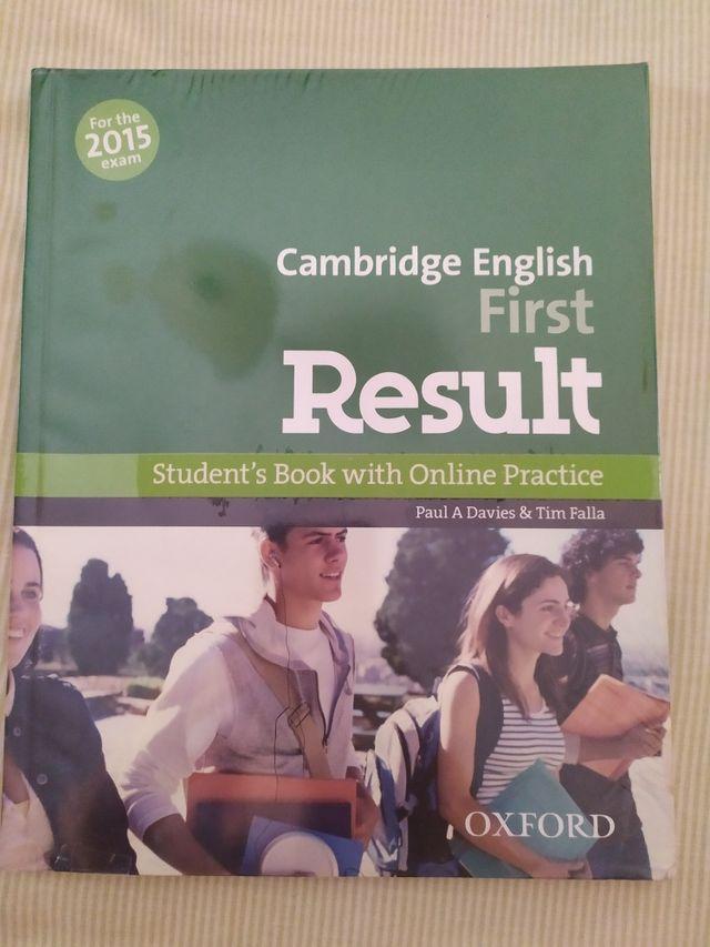 Libros Cambridge English First Result B2