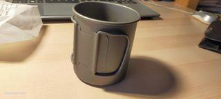 Taza de titanio 375 ml