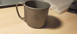 Taza de titanio 250 ml