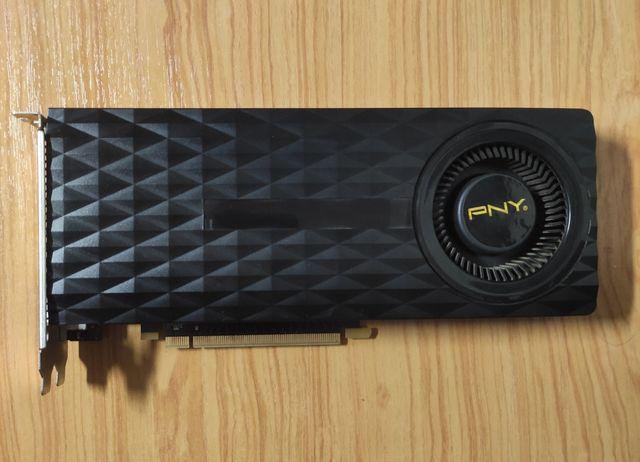 GTX 970 PNY 4GB DDR5. Nvidia GeForce.