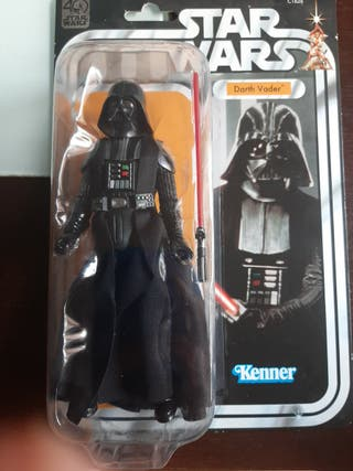 Star Wars darth vader 6 pulgadas 40 aniversario