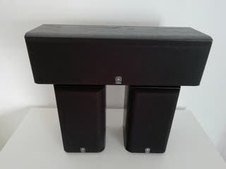 Conjunto 3.1 altavoces home cinema Yamaha