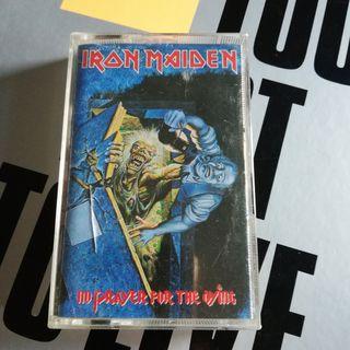 """Cassette Iron Maiden """"No Prayer..."""