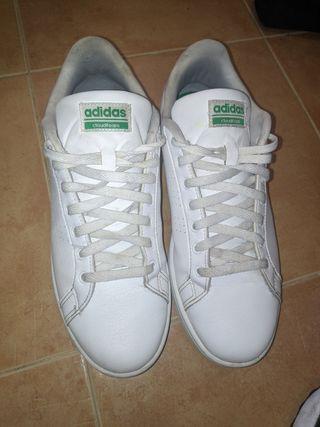 Adidas Stan Smith blancas y verde