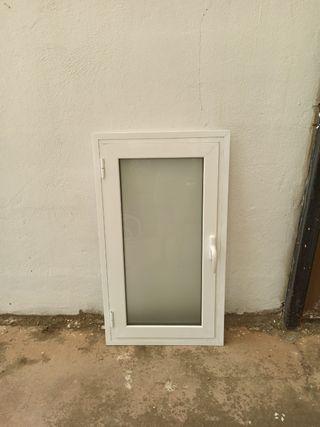 ventana de aluminio 116x65