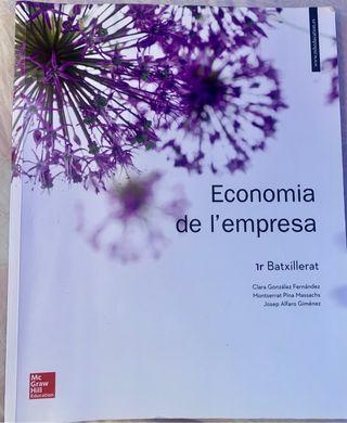1 Bachillerato libro Economía