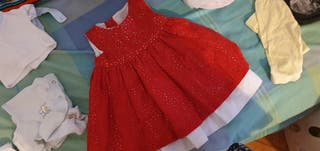 vestido bebe niña
