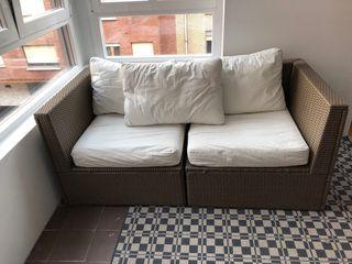 Sofá de exterior Ikea Solleron