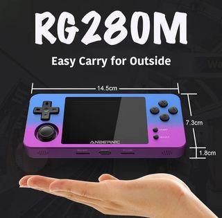 consola retro portatil rg280m