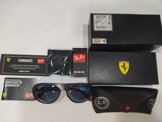 Gafas Rayban Ferrari carbono edición limitada