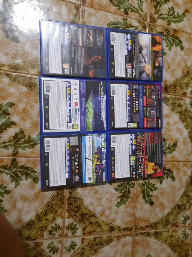Pack juegos de ps4