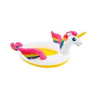 Piscina hinchable unicornio 193 x 272 x 104 cm