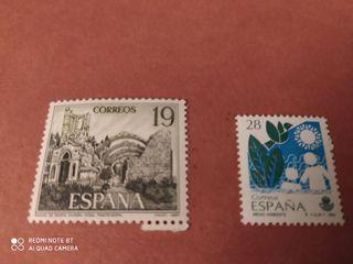 Sellos España 19y 28