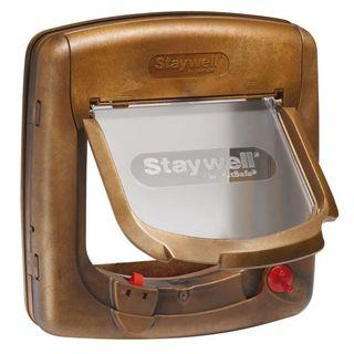 Puerta magnética PETSAFE Staywell Deluxe de 4 posi