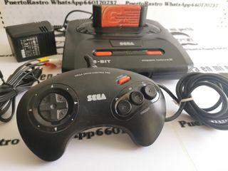 Consola Sega Megadrive II genesis