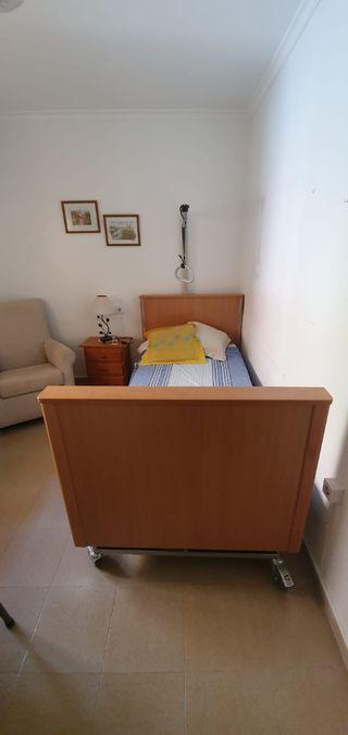 cama eléctrica o cama articulada