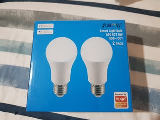 Bombillas LED wifi inteligentes colores