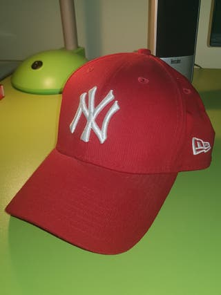 Gorra New York Roja