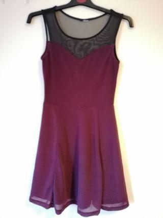 Purple Skater Dress