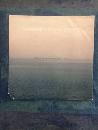 CD Summer crowd stereo. Where the sky meets the