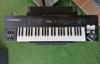 Teclado sampler Roland S-10 sintetizador