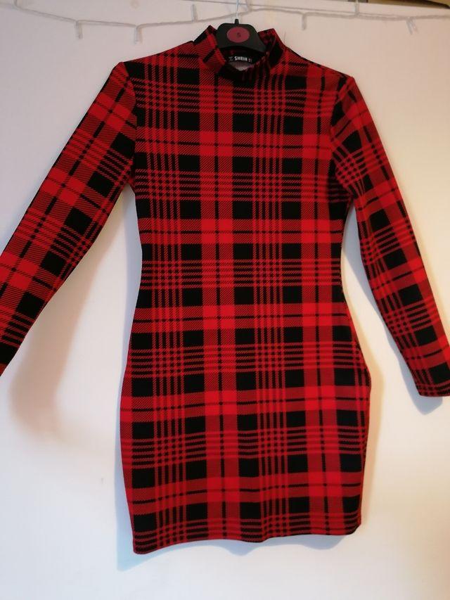 Tartan Bodycon Dress