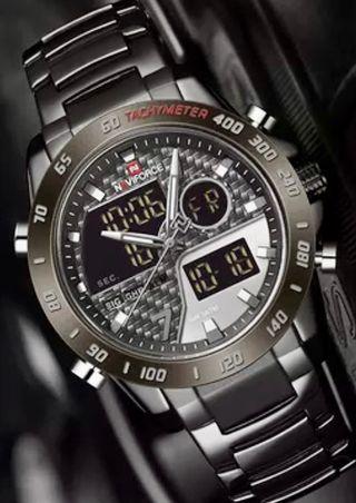 Reloj NAVIFORCE negro/gris