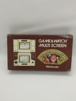 consola Nintendo Game watch donkey Kong II