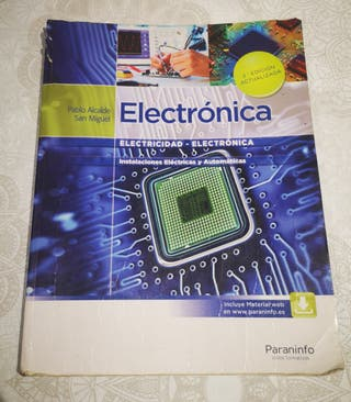 Libro grado medio Electrónica