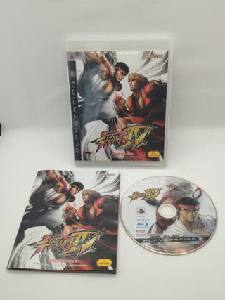 juego street fighter de Playstation 3 completo