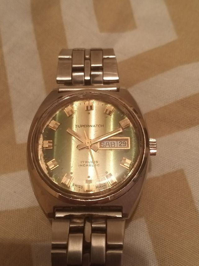 reloj super watch vintange