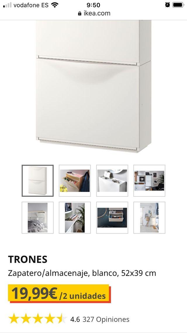 Zapatero Trones Ikea