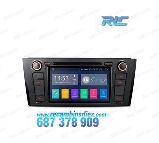 "RADIO GPS BMW E81 E82 E88 ANDROID 8.1 TÁCTIL 7"" CA"