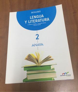 Lengua y literatura Segundo Bto (Anaya)