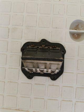 Caja lámina de ktm 250 2t del 98