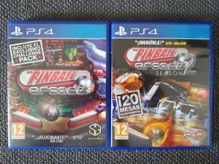 The Pinball Arcade 1 y 2