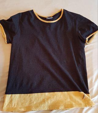 Camiseta hombre negra M
