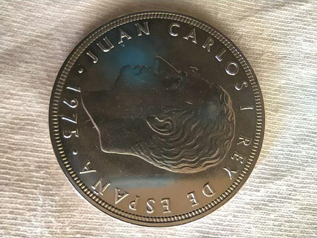 Moneda 100 pesetas año 1975