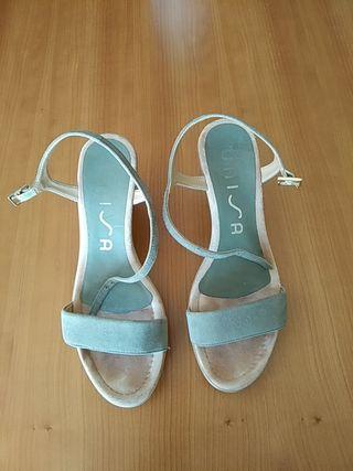 Zapatos Unisa verdes