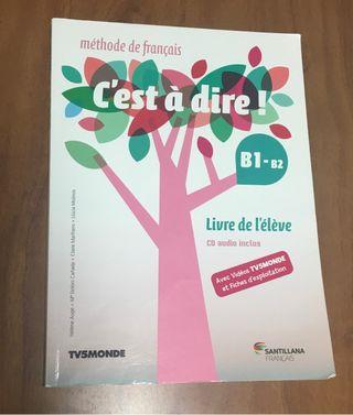 Libro y simplemente de vídeo Francés B1-B2