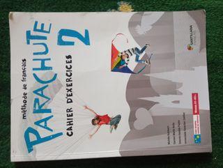 Parachute 2. Cahier d'exercicis. Ed. Santillana
