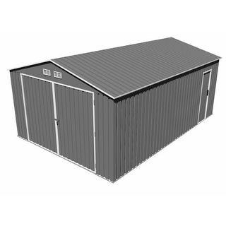 Garaje Metálico Gardiun Oxford 20,5 m² Exterior