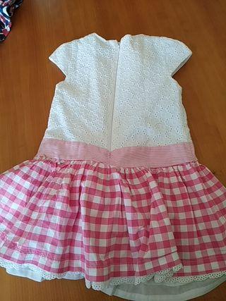 Pack 2 vestidos niña 4 años